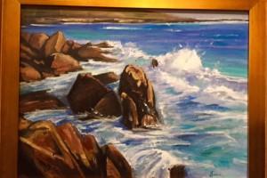 Crashing Waves Big Sur
